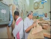 محمود سعد ينشر تقريرا عن صناعة الأثاث فى دمياط