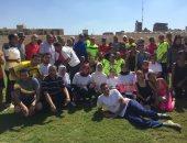 فيديو وصور.. 700 شاب يشاركون فى سباق الجرى والمشى بطنطا