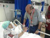 صور.. رئيس بعثة الحج يطمئن على أوضاع الحجاج المصريين المرضى بالمستشفيات السعودية