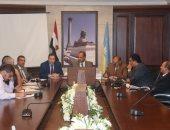 محافظ الإسكندرية يجتمع بشركة النظافة للبدء فى وضع تصور لتحسين المنظومة