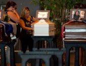 صور.. جنازة رسمية فى إيطاليا لعدد من ضحايا انهيار جسر مدينة جنوة