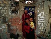 فيديو و صور.. قصة 5 أبناء معاقين يعيشون فى منزل آيل للسقوط بالإسماعيلية