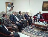 وفد عراقي يزور جامعة النهضة لبحث التعاون العلمى