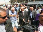 محافظ القاهرة يوجه بإلغاء المواقف العشوائية المحيطة بموقف السلام
