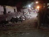 شكوى من انتشار القمامة بمنطقة عزبة النخل