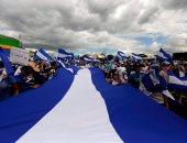 صور.. الآلاف يتظاهرون فى نيكاراجوا للمطالبة بإطلاق سراح معتقلين