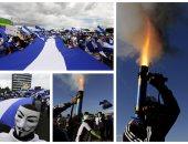 احتجاجات نيكاراجوا تتجدد بقذائف الهاون للمطالبة باستقالة الرئيس أورتيجا