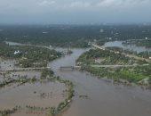 مصرع شخصين وانهيار عشرات المنازل فى فيضانات بسوريا