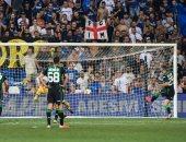 إنتر ميلان يسقط أمام ساسولو بهدف فى افتتاحية الدوري الإيطالي.. فيديو