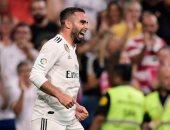 ريال مدريد يتقدم مجددا على ألافيس بركبة كارفاخال فى الدقيقة 69.. فيديو