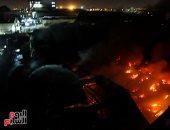 الحماية المدنية بالمنوفية تسيطر على حريق نشب داخل حظيرة