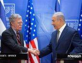 صور.. نتانياهو وبولتون يطالبان أوروبا بتكثيف الضغوط على إيران