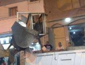 صور.. إزالة الاشغالات بمدينة فوه ليلا استعدادًا لاستقبال عيد الأضحى بكفر الشيخ