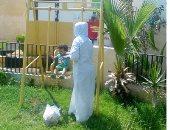 صور.. العيد فرحة فى سجن القناطر.. 8 أطفال فى زيارة أمهاتهم السجينات