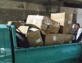 صور.. استمرار الحملات على مخازن تسليم البضائع المستوردة بورسعيد