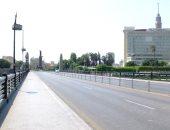 صور.. على غير عادتها.. شوارع القاهرة هادئة بدون تكدس سكان أوسيارات