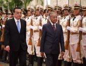 صور.. رئيس وزراء الصين يؤكد رغبته فى تعزيز العلاقات الثنائية مع ماليزيا