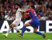 محمد صلاح ثاني أفضل لاعب في مباراة كريستال بالاس ضد ليفربول
