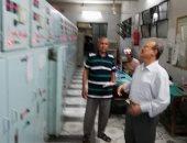 صور.. وكيل كهرباء الأقصر يتفقد المحطات استعداداً لعيد الأضحى المبارك
