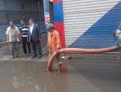 القابضة لمياه لـ صحافة المواطن..  تم تطهير خط الصرف فى ولاق الدكرور