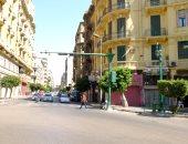 شوارع القاهرة خالية وسكانها بالحدائق والمتنزهات