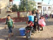 شكوى من انقطاع المياه لفترات طويلة عن قرية المنوات بالجيزة