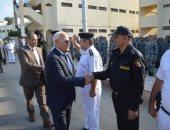 صور.. محافظ بورسعيد يزور إدارة قوات الأمن فى أول أيام عيد الأضحى