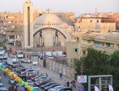 بلالين واحتفالات بالمطرية بعد أداء صلاة عيد الفطر