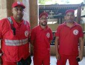 فيديو.. فريق الهلال الأحمر يصل حديقة الأزهر لتقديم الإسعافات الأولية للزائرين
