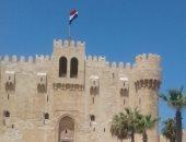 قلعة قايتباى تستقبل 4 آلاف زائر فى ثانى أيام عيد الأضحى المبارك