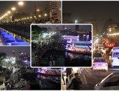 زحام على الكورنيش فى احتفالات المصريين بعيد الأضحى