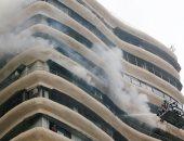 مصرع شخص وإصابة آخر فى حريق بمصنع طوب برأس سدر