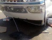 مصرع 6 أشخاص وإصابة 12 آخرين فى حادث انقلاب سيارة أجرة بالوادى الجديد