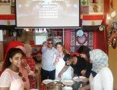 صور.. اللحمة الضانى والفتة المصرى تجمع المصريين على مائدة العيد فى ألمانيا