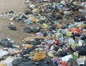 قارئ يشكو من انتشار القمامة بجوار نفق الفخرانى بدائرى المنيب