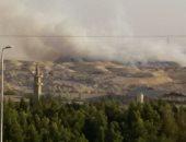 قارئ يشكو من حرائق القمامة بمنطقة الحزام الأخضر فى القاهرة الجديدة