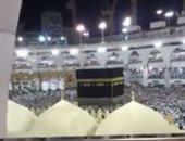 فيديو.. مراوح رذاذ المياه ترطب الأجواء على الحجاج بمحيط المسجد النبوى