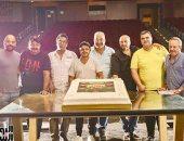 """صور.. اليوم السابع في كواليس مسرحية محمد هنيدى """"صراع فى الفيلا"""""""