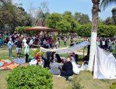 صور .. القناطر الخيرية تواصل استقبال المواطنين في ثالث أيام عيد الأضحى