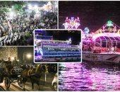 زحام بكورنيش النيل فى رابع أيام عيد الأضحى المبارك