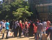 فيديو.. حديقة الحيوان بالجيزة تعلن 13 ألف زائر حتى الآن فى رابع أيام العيد