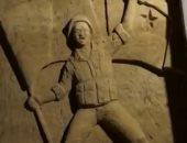شاهد.. طلاب سوريين يحولون أنفاق الموت إلى معالم فنية