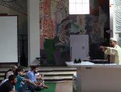 شاهد.. إمام فى برلين يخطب الجمعة داخل كنيسة ويصلى بالمسلمين