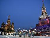 صور.. انطلاق مهرجان للموسيقى العسكرية فى موسكو