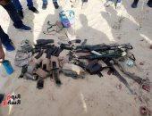 ضبط 211 قطعة سلاح نارى و289 قضية مواد مخدرة فى حملة الأمن العام