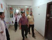 صور.. حملات على 23 وحدة صحية و7 مستشفيات وإحالة بعض العاملين للتحقيق بأسيوط