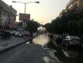 قارئ يشكو من غرق شارع منطقة الأردنية بمدينة 6 أكتوبر بسبب مياه الصرف