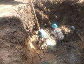 سكان شارع حامد إسماعيل ببولاق الدكرور يستغيثون لإصلاح كسر ماسورة مياه