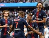 باريس سان جيرمان يدك آنجيه بـ3 أهداف من مثلث الرعب.. فيديو