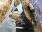 قارئ يرصد غرق شارع المطار بالسويس بمياه الصرف ومحاصرتها للمنازل